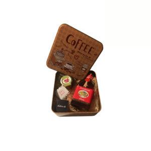 Caixa Coffee com Licor, compota e Bombons