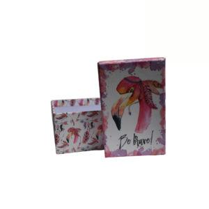 Caixa decorativa cartão